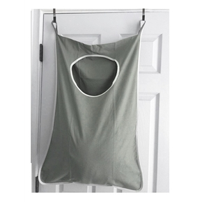 Door Hanging Laundry Bags Dirty Clothes Washing Machines Wall Mounted Bathroom Storage Bag With Hooks