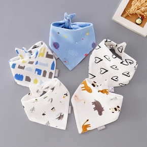 Baby Bibs Cute Cotton Infant Saliva Bibs Baby Towel Infant Stuff