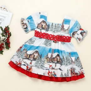 Baby / Toddler Christmas Bowknot Dress