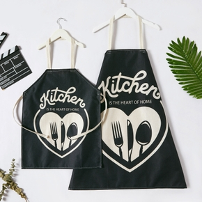 Kitchen Pattern Print Aprons for Family