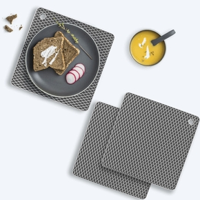 Heat Resistant Placemat Pads Silicone Heat Insulation Stand Silicone Mat Hot Pan Placemat for Honeycomb Counter Mat