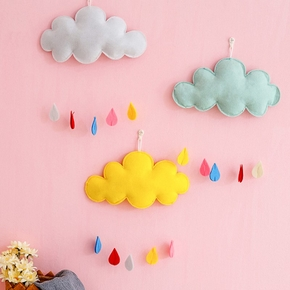 Clouds Ornament Kids Room Decoration Baby Crib Tent Hanging Pendant Wall Decor Photography Props