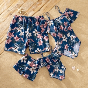 Floral Allover Family Matching Swimsuits