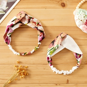 Mommy and Me Floral Print Headbands