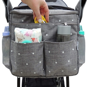 Fashion Mummy Maternity Nappy Messenger Bag Large Capacity Travel Nursing Diaper Multifunction Waterproof Outdoor Stroller