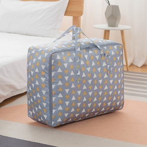 Foldable Quilt Storage Bag Cloth Storage Organize Bag Foldable Waterproof Oxford Fabric Shell