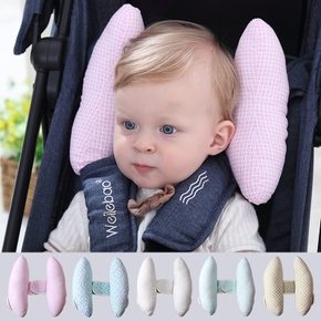 Baby Travel Car Seat Soft Breathable Neck Head Safety Rest Cushion Pillow