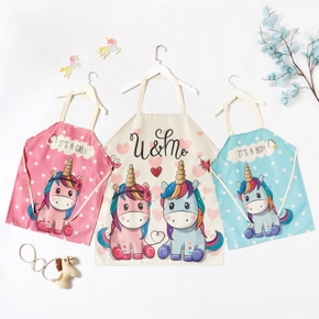 Unicorn Print  Aprons for Mommy and Me