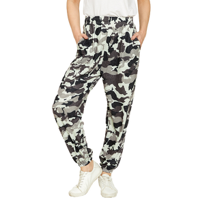 Casual Camouflage Print Ankle-Length Jogger