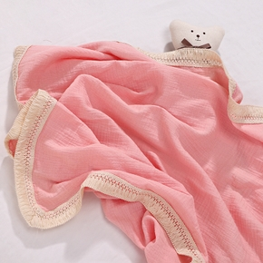Baby Fringed Blankets Baby Gauze Towels Baby Bath Towels Newborn Quilts Baby Blankets Wrapping Towels Tassel Children's Blankets