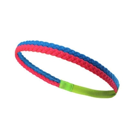 Double Color Red and Blue Athletic Hair Band for Kids