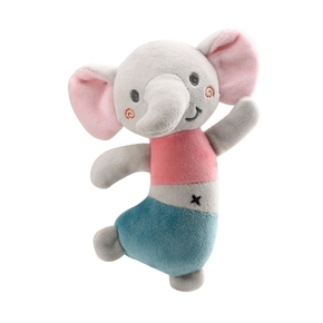 Cute Soft Kids Baby Infant Rattles Plush Stuffed Animals Soothing Educational Toys for Children Gift Baby Dancing Rattle Doll Toy