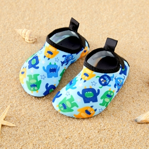Cartoon Monster Print Beach Water Shoes for Toddlers / Kids