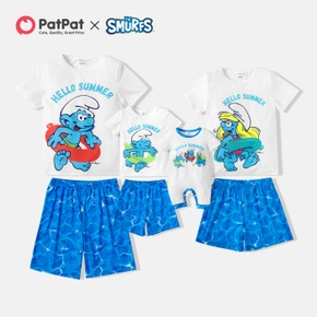 Smurfs Hello Summer Family Matching Set(Flame Resistant)
