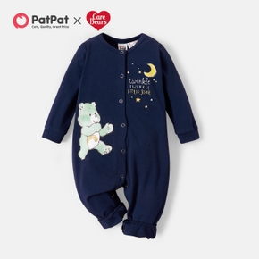 Care Bears Baby Boy Cotton Long-sleeve  Twinkle Jumpsuit/One Piece