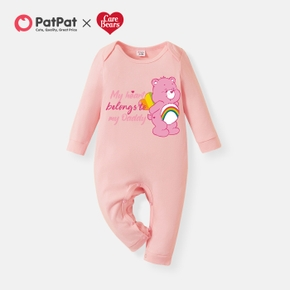 Care Bears Baby Girl Daddy's Sweetheart 100% Cotton One Piece