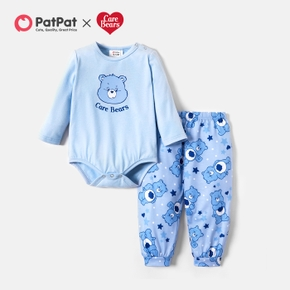 Care Bears 2-piece Sweet Animal Baby Jumpsuit and Pants Set