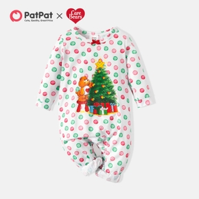 Care Bears One Piece Polka Dots Christmas Tree Baby Romper