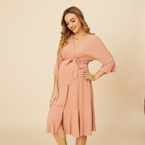 Maternity casual Print Robes & Nightgowns