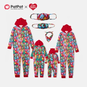 Care Bears Family Matching Pajamas Onesies and Washable Mask(Flame Resistant)