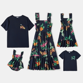 Floral Print Family Matching Sets
