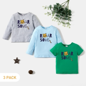 3-Pack Toddler Graphic Tee Set