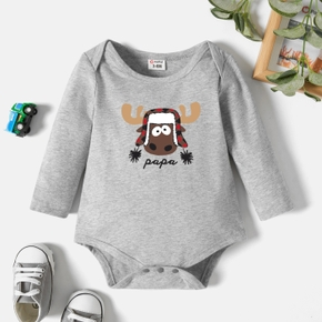 Baby Graphic Long-sleeve Romper