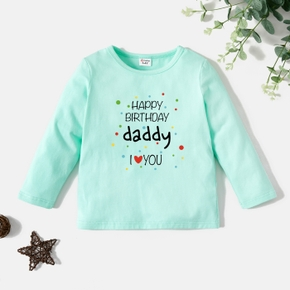 Toddler Graphic White Long-sleeve Tee