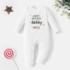 Baby Graphic Light Long-sleeve Jumpsuit