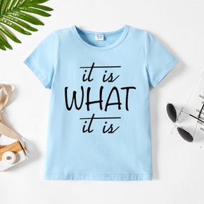 Toddler Graphic Letter Short-sleeve Tee
