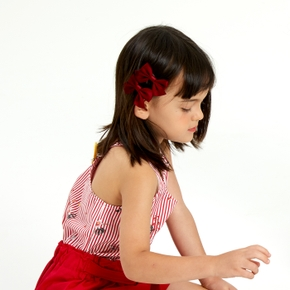 2-piece Solid Bowknot Hairband for Girls