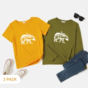 2-Pack Graphic Tee Set For women