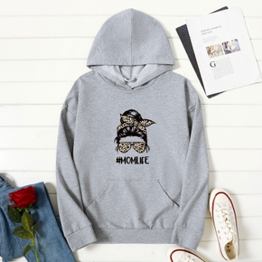 Graphic Long-sleeve Hooded For Women