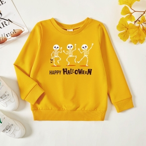 Toddler Graphic Ginger Long-sleeve Pullover