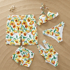 Buttercup Print Family Swimsuits