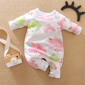 Baby / Toddler Boy / Girl Colorful Rainbow Jumpsuit