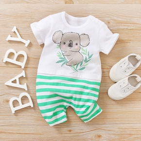 Baby Koala Striped Bodysuits