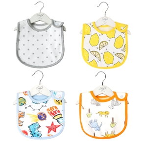Cute Cotton Cute Baby Bips Gauze Newbron Toddler Kids Gauze Burp Cloth Feeding Apron Baby Saliva Towel Scarf Bandana Bibs Baby Stuff