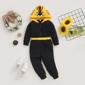 Baby / Toddler Tiger Zipper Hooded Jumpsuit