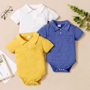 1pc Baby boy Short-sleeve Cotton casual Rompers & Bodysuits