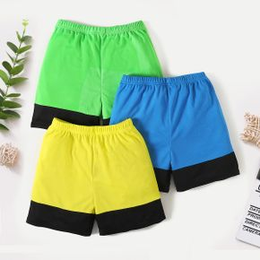 Color Block Activewear Shorts for Toddlers / Kids