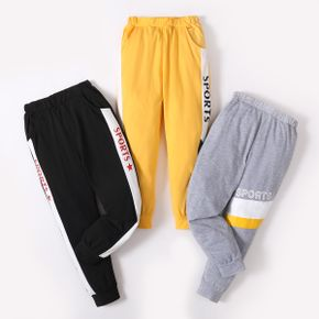 'Sports' Letter Color Block Athleisure Pants for Toddlers / Kids