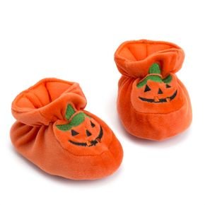 Baby / Toddler Halloween Pumpkin Stylish Prewalker Shoes