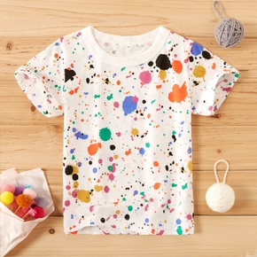 Baby / Toddler Colorful Splash-Ink Tee