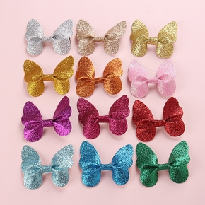 1-pack Sequined Butterfly Hairpins for Girls