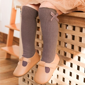Baby / Toddler / Kid Bowknot Solid Stockings