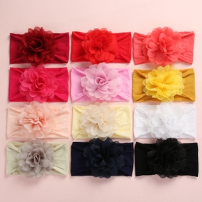 Baby Colorful Flower Decor Headband