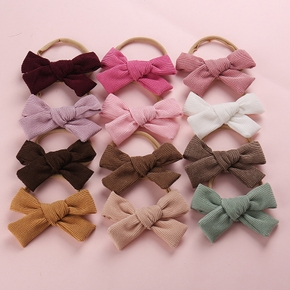 Solid Pretty Bowknot Headband for Girls
