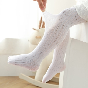 Toddler / Kid Solid Mesh Breathable Middle Stockings
