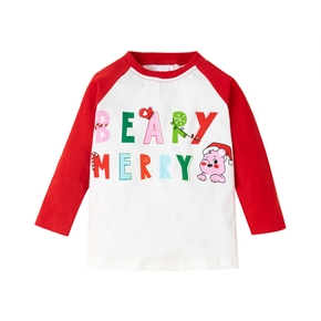 Care Bears Cotton Merry Christmas Toddler Top